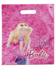 Barbie Sticker Bazaar Gift Bag Small Pack Of 20 - Pink