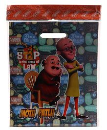 Motu Patlu Sticker Bazaar Gift Bag Combo Set Small - 20 Pieces