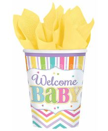 Wanna Party Welcome Baby Shower Cups - 9 Pieces