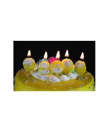 Wanna Party Baby Duckings Candle - 5 Pieces