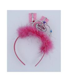Wanna Party Mommy To Be Tiara Hair Band - Pink