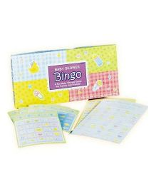 Wanna Party Baby Shower Bingo Game - Yellow