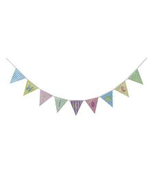 Wanna Party Welcome Banner - Multicolor