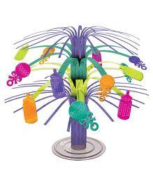 Wanna Party Mini Cascade Baby Shower Centerpiece - Multicolor