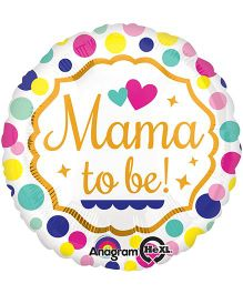 Wanna Party Mama To Be Balloon - Multicolor