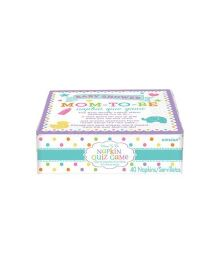 Wanna Party Napkin Trivia Game Baby Shower - 40 Pieces