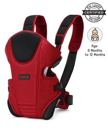 Babyhug First Blossom 3 In 1 Baby Carrier - Red