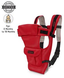 Babyhug Joy Bundle 4 in 1 Carrier - Red