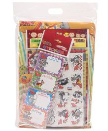 Tom & Jerry Stationery Set Combo - Yellow