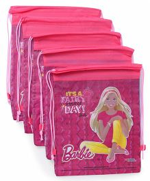 Barbie Rope Bag Combo Set Pack Of 10 - Pink
