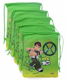 Ben 10 Rope Bag Combo Set Pack Of 10 - Green