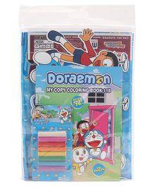 Doraemon Stationery Gift Set Combo - Blue