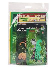 Ben 10 Stationery Gift Set Combo - Green
