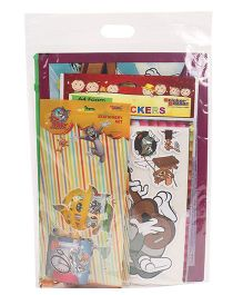 Tom & Jerry Stationery Gift Set Combo - Pink