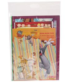 Tom & Jerry Stationery Gift Set Combo - Yellow