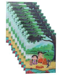 Chhota Bheem D Cut Bag Combo Set Pack Of 10 - Green