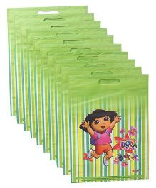 Dora D Cut Bag Combo Set Pack Of 10 - Green