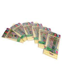 Dora Pencil Set Combo Pack Of 6 - Yellow