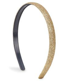 Flaunt Chic Shimmer Hairband - Golden