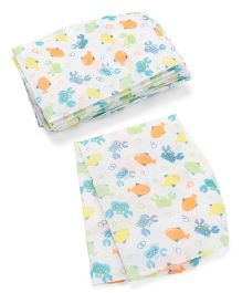 Summer Infant Keep Me Clean Disposable Bibs Fish Print - Pack Of 20