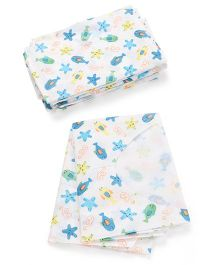 Summer Infant Keep Me Clean Disposable Bibs Fish Print - Pack Of 10