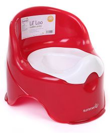 Summer Infant Lil Loo Toddler Potty Chair - Red