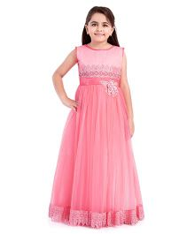 Betty By Tiny Kingdom Floral Design Gown - Pink