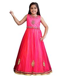 Betty By Tiny Kingdom Gown With Embellishments - Pink