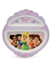 The First Years Disney Fairies Open Stock PP Plate - Purple