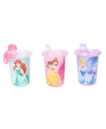 The First Years Disney Princess Take & Toss Sippy Cup Pack Of 3 - 295 ml