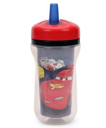 The First Years Disney Cars Insulated Straw Cup Red - 266 ml