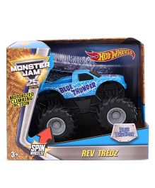Hot Wheels Rev Tredz Monster Jam - Blue
