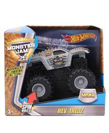 Hotwheels HW MJ Rev Tredz Monster Jam - Silver