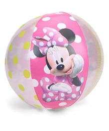 Bestway Beach Ball Minnie Print - Pink