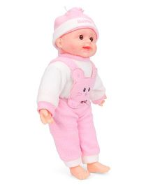 Tickles Laughing Baby Doll Pink - 34 cm