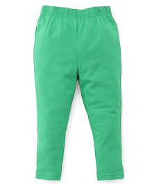 ToffyHouse Plain Leggings  - Green
