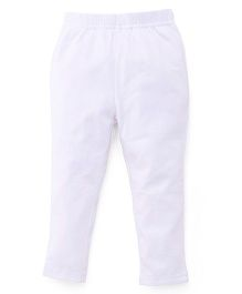 ToffyHouse Plain Leggings  - White