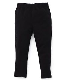 ToffyHouse Plain Leggings  - Black
