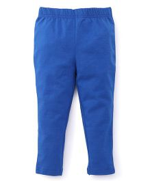 ToffyHouse Plain Leggings  - Royal Blue