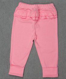 Pikaboo Full Length Solid Colour Leggings - Light Pink