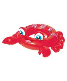 Bestway Crab Shaped Swimming Ring - Red