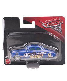 Disney Pixar Fabulous Hudon Hornet 51 Toy Car - Blue