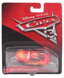 Disney Pixar Lightning McQueen Toy Car - Red