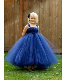Pre Order - Mauve Collection Boufant Bodice Tutu Gown - Blue