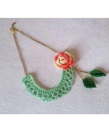 Soulfulsaai Bib Necklace - Seagreen