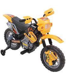 Battery Operated Motocross Bike - Yellow