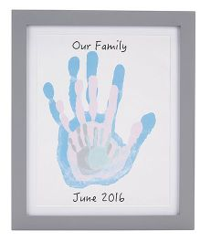 Pearhead Family Handprints Frame - Grey