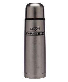 Milton Thermosteel Flask With Plain Lid Grey - 1000 ml