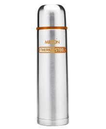 Milton Thermosteel Flask Orange Silver - 1000 ml