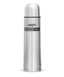 Milton Thermosteel Flask With Plain Lid Silver - 1000 ml